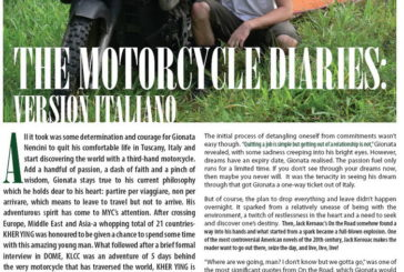 Malesia: My'C - The motorcycle diaries version italiano