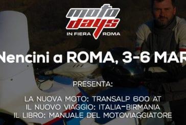Gionata Nencini al Motodays 2016