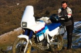 Honda Transalp 600 AT – Test 3 (off road)