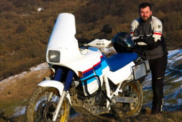 Honda Transalp 600 AT - Test 3 (off road)