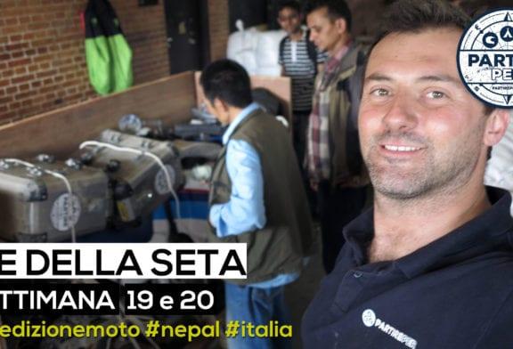 [Video] Settimana 19 e 20 (spedizione moto Nepal - Italia)