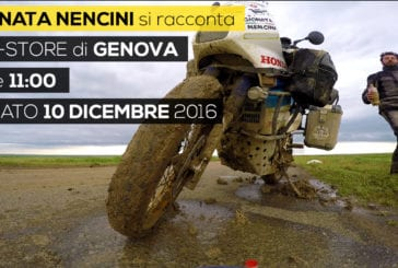 Gionata Nencini a Genova + Libro e DVD