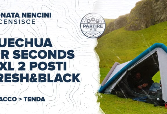 Tenda Quechua Air Seconds 2 Xl Fresh&Black - 2 posti
