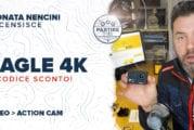 Action Cam Fluid&Form EAGLE 4K + codice sconto