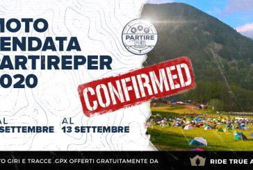 Moto Tendata PARTIREper 2020 (11 - 13 Settembre)