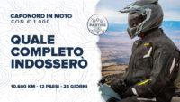 Capo Nord in moto con € 1.000: Quale completo tecnico indosserò e perché non porterò l'anti-pioggia [Ep.6]