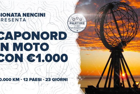 Teaser: Capo Nord in moto con € 1.000
