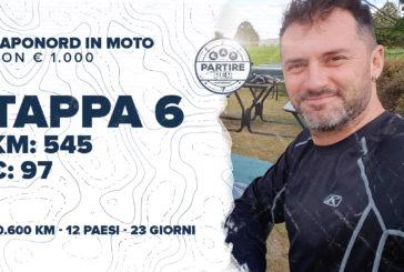 [Ep.21 completo] Capo Nord in moto a/r con € 1.000 tutto compreso: Tappa 6 - km 545, € 97