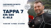 [Ep.22 completo] Capo Nord in moto a/r con € 1.000 tutto compreso: Tappa 7 – km 689, € 40,5