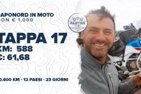 [Ep.32 completo] Capo Nord con meno di € 1.000: Tappa 17 - km 588, € 61,68